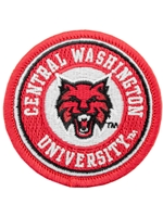 CWU Patch Magnet