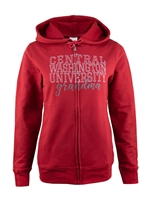 Central Washington Grandma Full Zip Sweatshirt