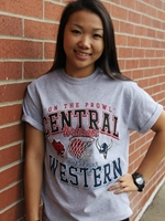 Central Vs Western Rival Basketball Tshirt