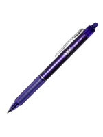 Pilot FriXion Clicker Erasable Gel Pen Purple 0.7MM