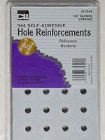 Hole Reinforcement Stickers