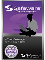Safeware Purple Card<br>4 Year Coverage Up To $1000
