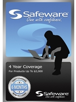 Safeware Blue Card<br>4 Year Coverage Up To $2000
