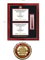 Elite Double Diploma + Tassel