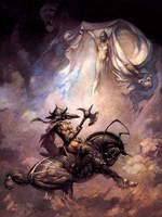 Frazetta Canvas Print 16x20 - The Apparition