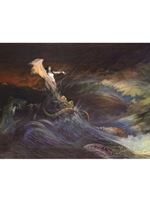 Frazetta Canvas Print 22x15 - Sea Witch