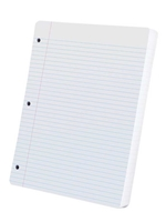 Oxford College Ruled Filler Paper 100 sheet