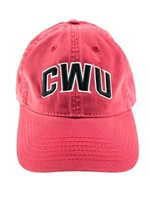 Crimson CWU Hat