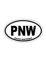 Pacific Northwest (PNW) Euro Sticker