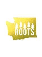 Decal Washington Roots - Gold Foil