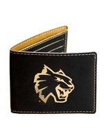 Black Bifold Wallet (Customizable)