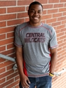 Central Wildcats Performance Tee Shirt