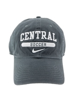 Graphite Central Soccer Hat