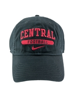 Black Central Football Hat