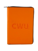 Blue CWU Summit Zippered Journal