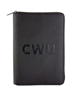 Black CWU Summit Zippered Journal