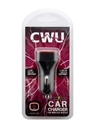 Car Charger CWU Wildcats Black
