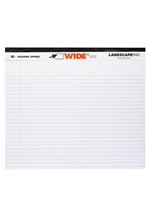 Landscape Recycled Writing Pad