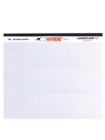 Landscape Recycled Writing Pad - Graph
