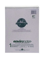 1 Subject Top Spiral Recycled Notebook