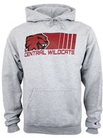 Central Wildcats Gray Sweatshirt