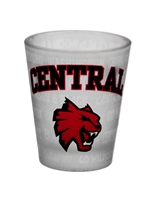 *Central Frosted Shot Glass