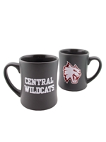 Grey Matte Central Wildcats Mug