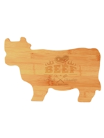 Bamboo Cow Cutting Board (Customizable)