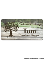 Name Tag Full Color 3x1.5 in.