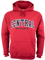 Central Tackle Twill Crimson Hood