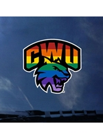 CWU Pride Decal