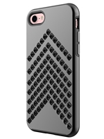 Rebecca Minkoff Star-Studded Case for iPhone 7 - Gunmetal