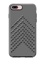 Rebecca Minkoff Star-Studded Case for iPhone 7 Plus - Gunmetal