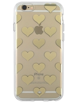 Kate Spade Case for iPhone 6/6S - Gold Foil Hearts