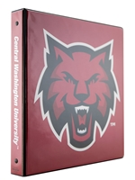 Binder 1 Subject Cathead Red