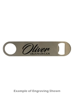 Stainless Steel Bottle Opener (Customizable)