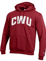 Basic Hood Crimson/White CWU Sweatshirt