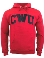 Basic Hood Crimson/Black CWU Sweatshirt