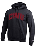 Basic Hood Black/Crimson CWU Sweatshirt