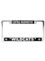 Central Washington Wildcats License Plate Frame