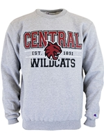 Central Wildcats Crew Neck Sweatshirt