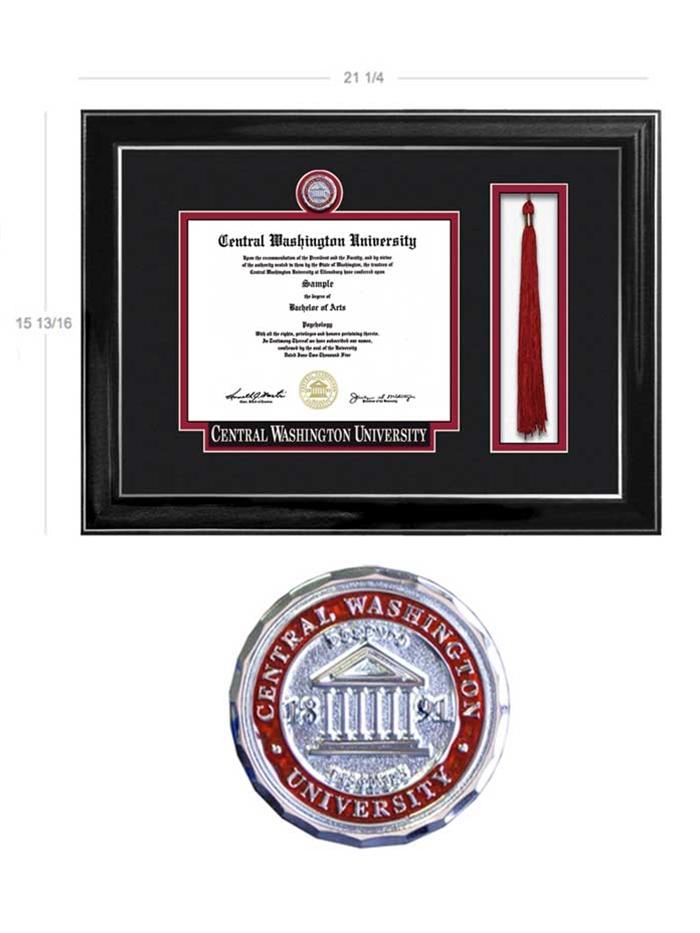 Wildcat Shop Elite Standard Medallion Frame Tassel