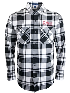 CWU Flannel Button Up