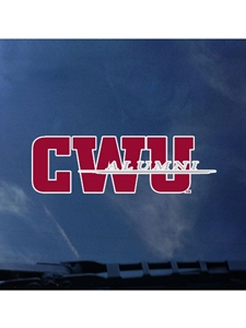CWU Alumni decal
