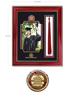 "CWU 5X7"" Photo Frame + Tassel"