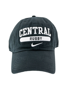 Black Central Rugby Hat