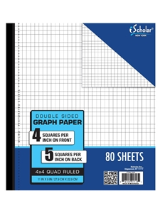 wildcat shop ischolar double sided graph paper
