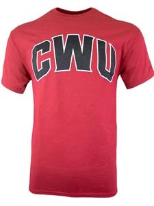 CWU Red Collar t shirt size medium