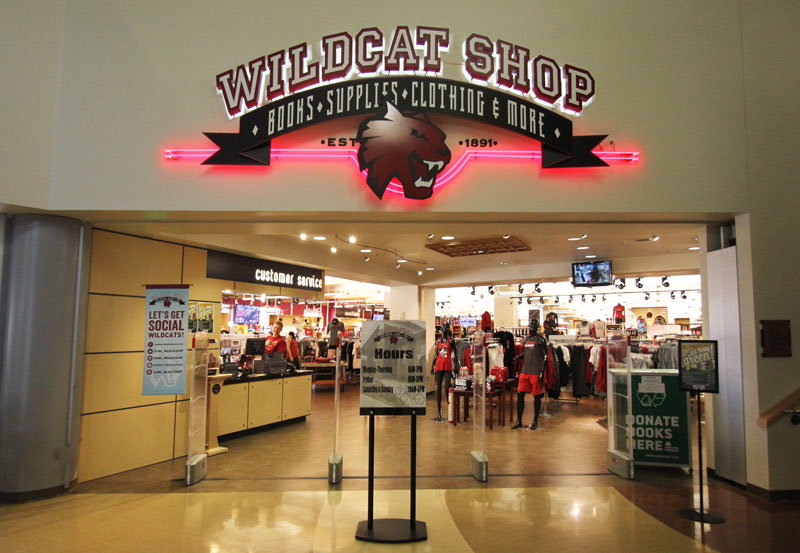 current wildcat shop storefront